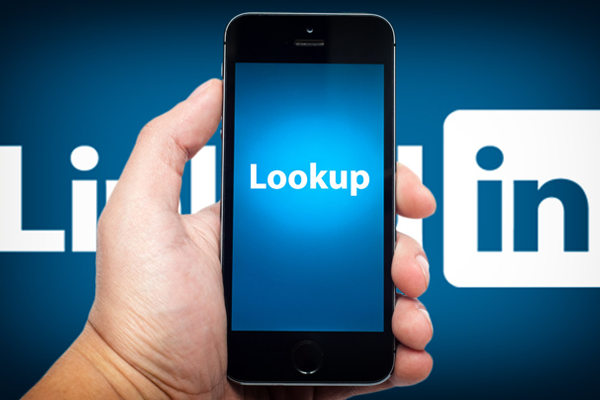 Linkedin Look Up App