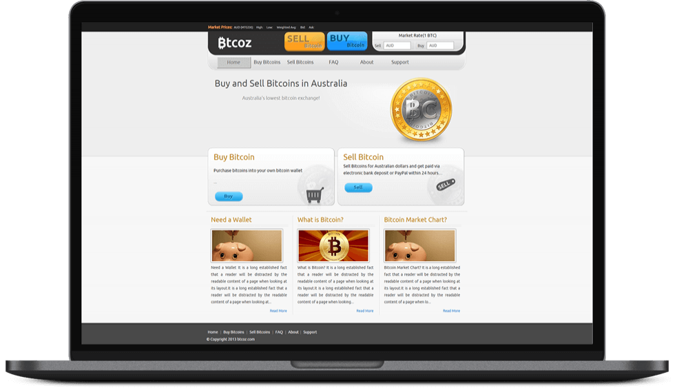 Online Bitcoin Buying and selling website